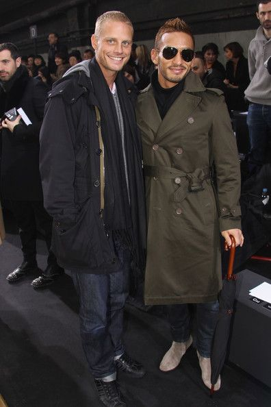 Hidetoshi Nakata Photos Photos - Hidetoshi Nakata (R) and Arnaud Lemaire attend the Dior Homme fashion show as part of Paris Menswear Fashion Week Fall/Winter 2011-2012 on January 22, 2011 in Paris, France. - Dior Homme - Front Row: Paris Fashion Week Menswear F/W 2011
