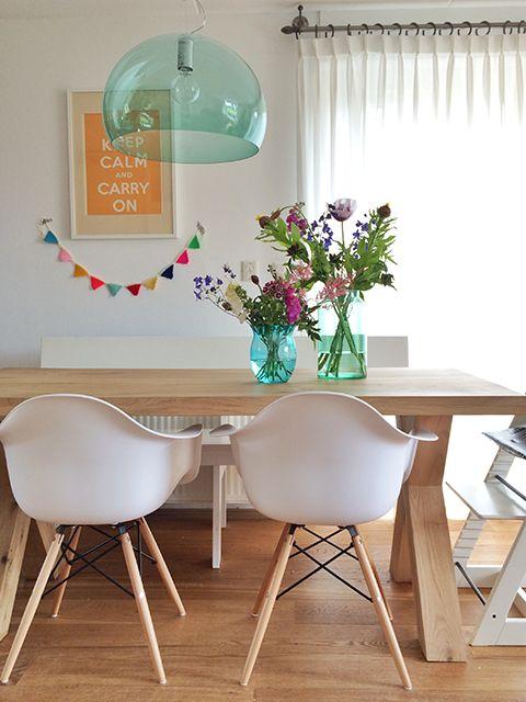 Las 25 mejores ideas sobre sillas eames en pinterest - Decoracion sillas comedor ...