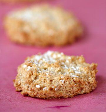 Amaretti, biscuits italiens � l�amande - �d�lices : Recettes de cuisine faciles et originales !