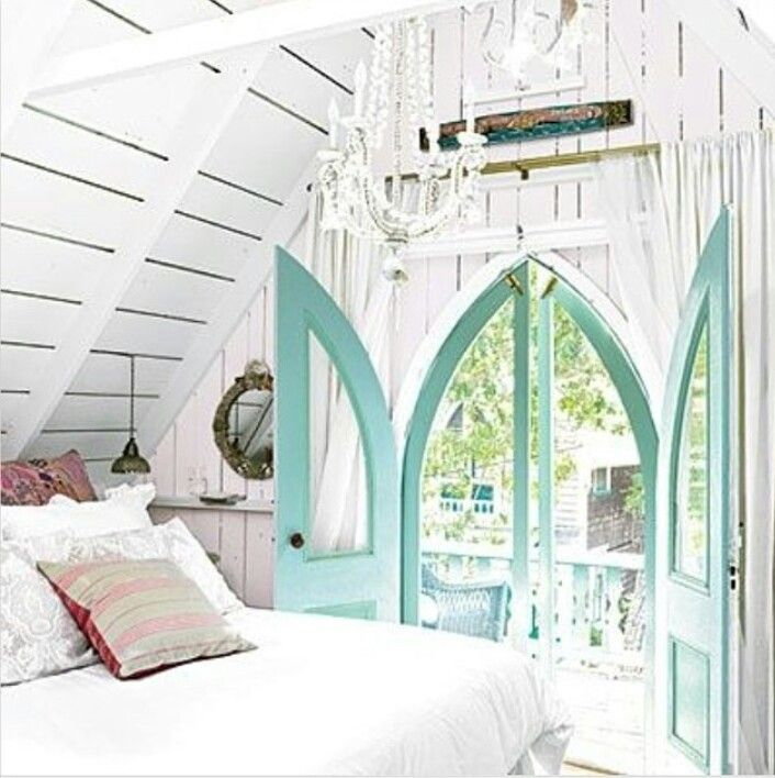 The Doors Are A Great Ideai Do Love That ColourLAKE COTTAGE DREAMS Bedroom Beach House Decorating Ideas Home Decor And Interior