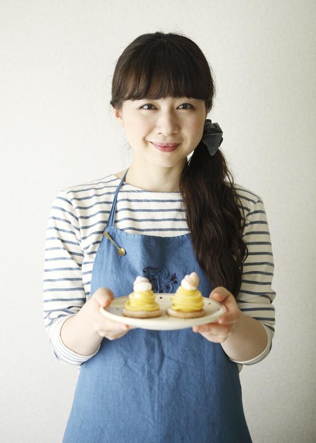 さつまいもや卵など、身近な材料で作れるモンブランです。/おいしいスイーツギフト(「はんど&はあと」2011年10月号)