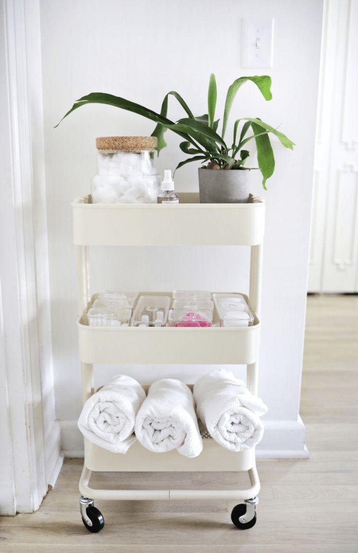 8 IKEA Hacks For Small Bathrooms – Easy DIY Storage