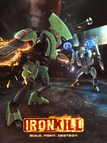 Download Ironkill robot fighting game