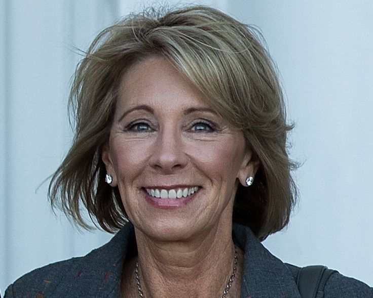 Ms. DeVos, a philanthropist, activist and Republican fund-raiser, has worked to give families vouchers to attend private schools and pressed to expand charter schools.
