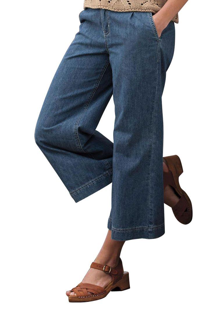 plus size jean capris - Sizing
