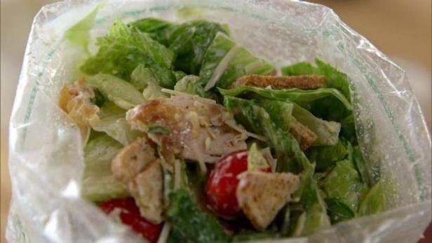 Get Zipper Bag Caesar Recipe from Food Network