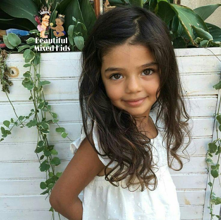 Samsara Leela Yett - 4 Years • Dad: Polish, Belarusian & Lithuanian (Jewish) • Mom: Tamil South Indian ❤
