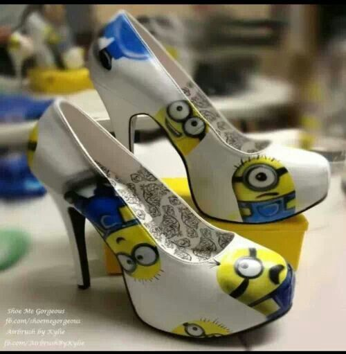 OMG!!! Minion heels...They are sooo cute!!!