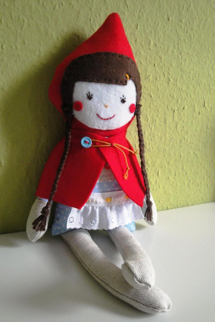 Do you like Fairy Tales? Here comes little red ridding hood, without granny or wolf!