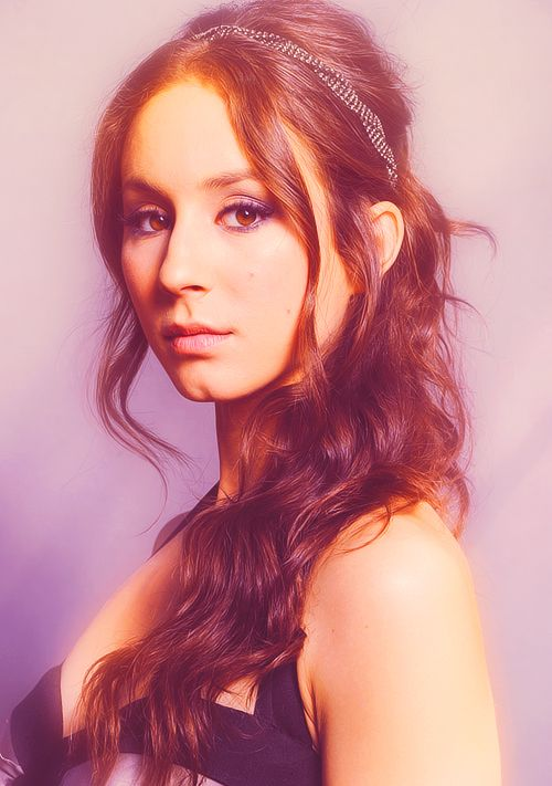 Troian Bellisario :) oh my goodness she is an amazingly stunning woman as well as a phenomenal actor <3