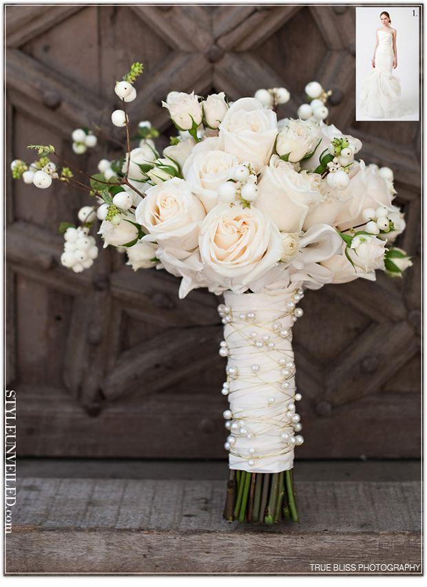 Dream Idea – Ivory and Pearl Bridal Bouquet - Pocketful Of Dreams