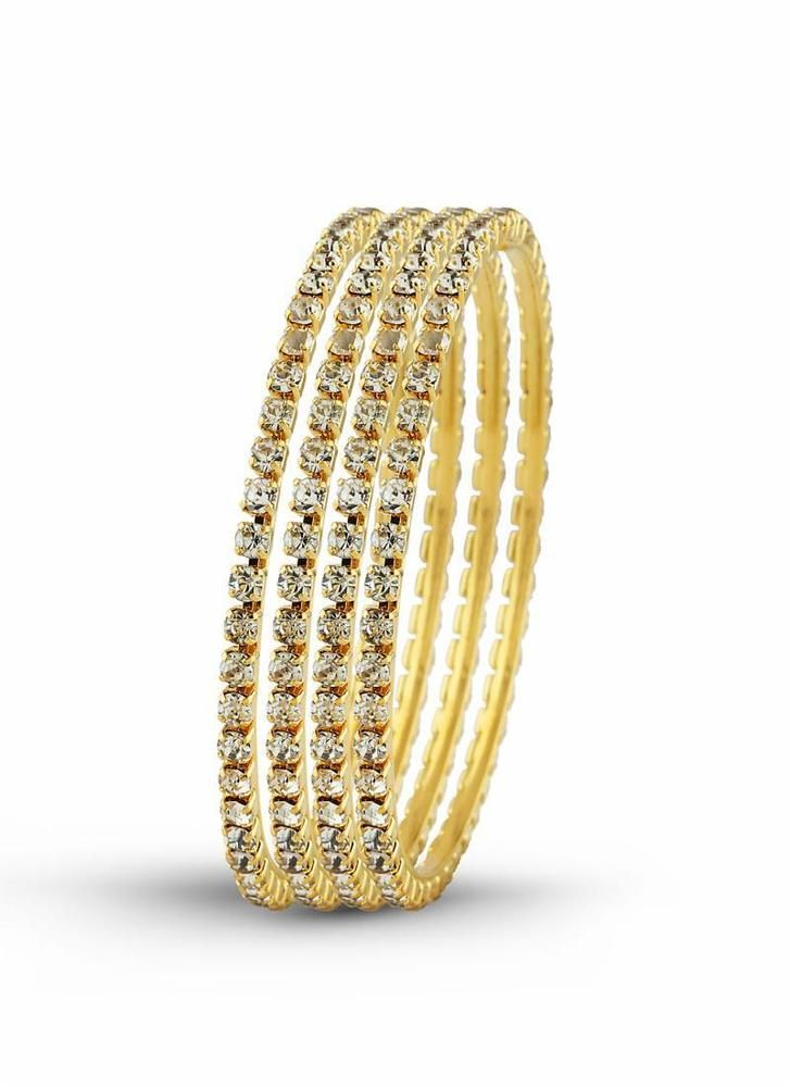 Fashion Bangle Designer Collection Jewelry Women Gold Party wear New Cuff Charm