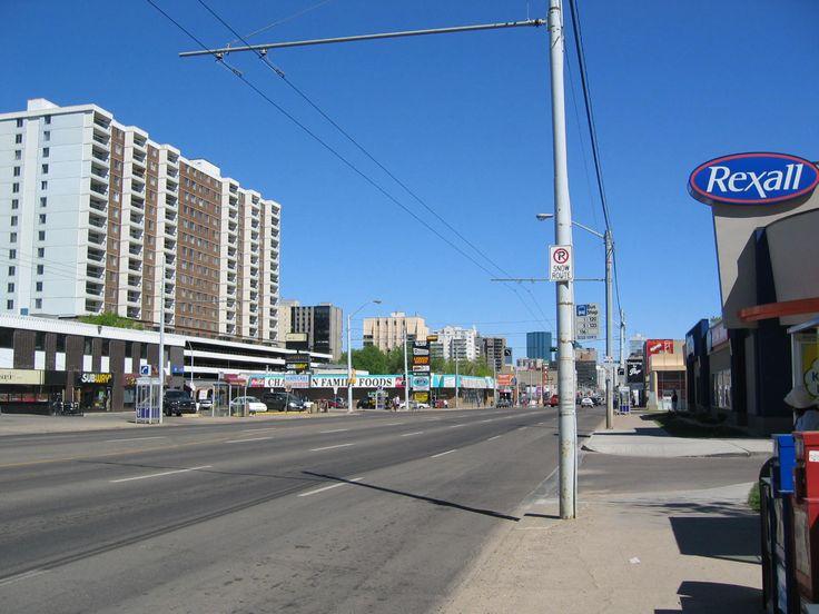 Jasper Ave. Edmonton Alberta