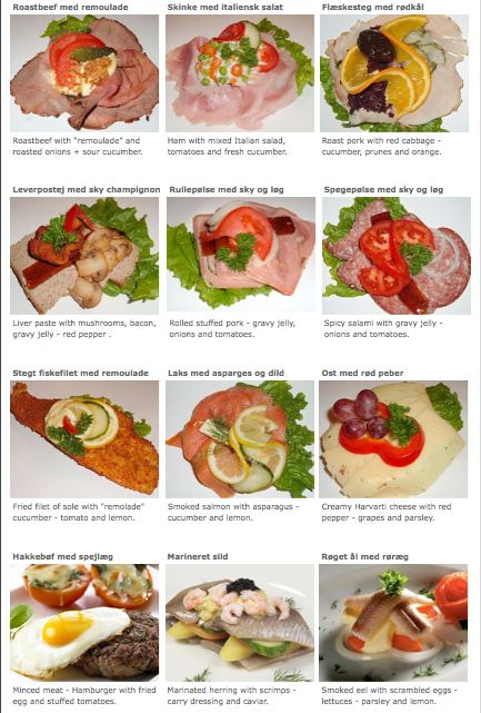 typical danish combinations from the danish food culture website