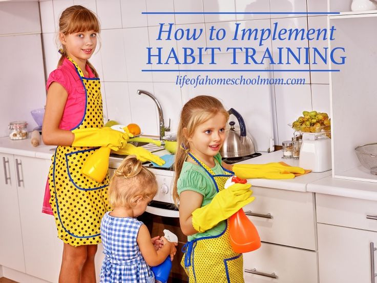 Tips to implementing habit training in your homeschool