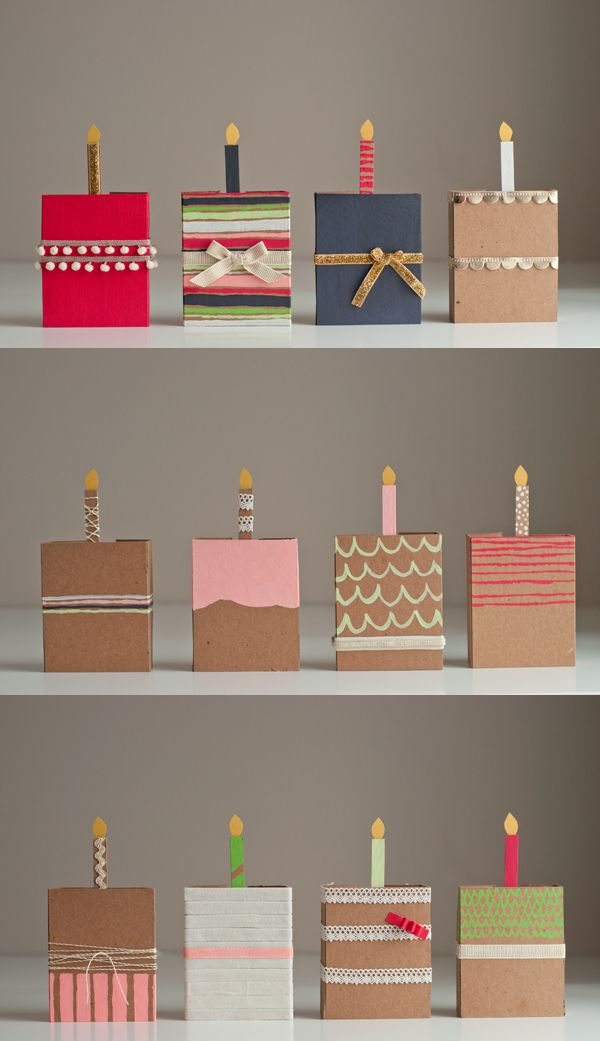 Chipboard Birthday Cakes | this heart of mine