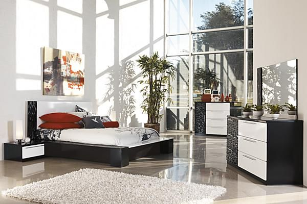 The Piroska Platform Bedroom Set From Ashley Furniture Homestore The Two Toned High