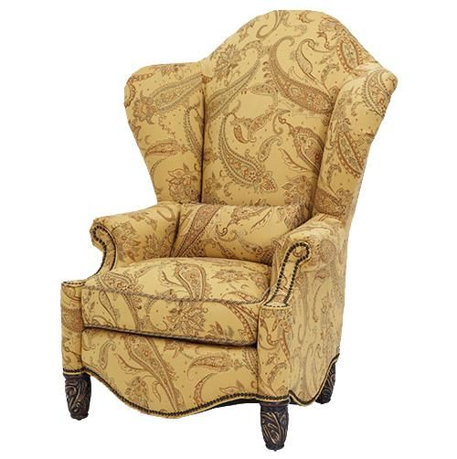 shop for the michael amini essex manor high back wing chair at furniture your baton rouge and lafayette louisiana furniture u0026 mattress store