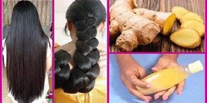 Ginger mask for hair loss treatment and extreme hair growth