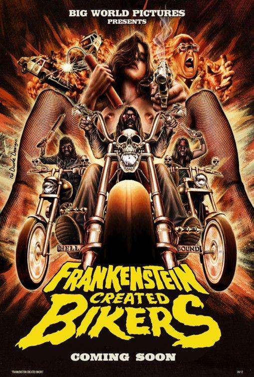 Frankenstein Created Bikers Movie Poster - Internet Movie Poster Awards Gallery