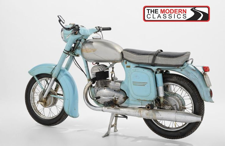 1965 CZ Jawa 450_5 Deluxe Country