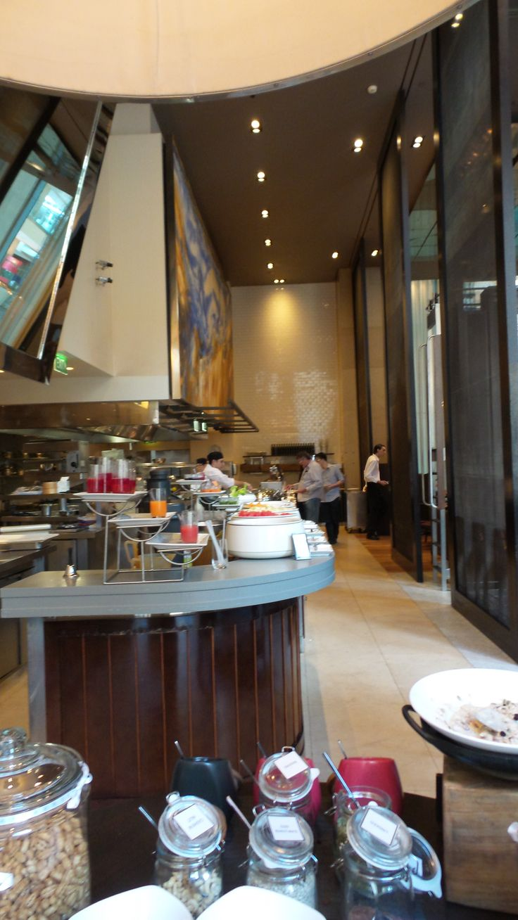 Breakfast at Glass Brasserie at the Hilton Sydney Hotel