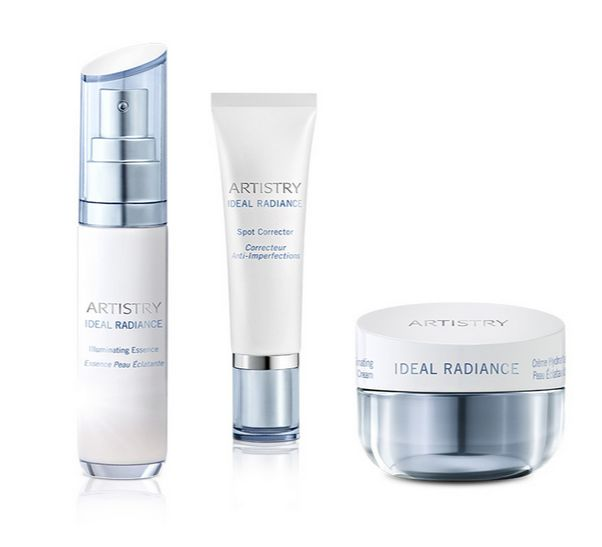 ARTISTRY IDEAL RADIANCE Power Systém #http://pinterest.com/savate1/boards/