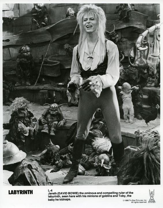 Labyrinth 1986, Jennifer Connelly, David Bowie, and Jim Henson muppets, what's not to like?