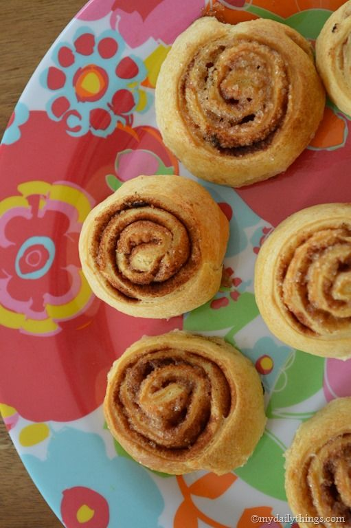Kaneelbroodjes recept makkelijk met croissantdeeg