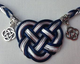 Zoei's Charmed Life Handfasting Cord (5 cords, 3 stain, 2 metallic plus 6 charms)