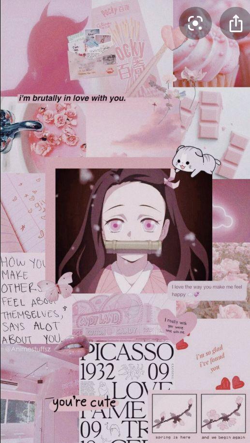 Pin by Izuku Midoriya on Nezuko in 2020 | Anime wallpaper iphone, Cute anime wallpaper, Anime ...
