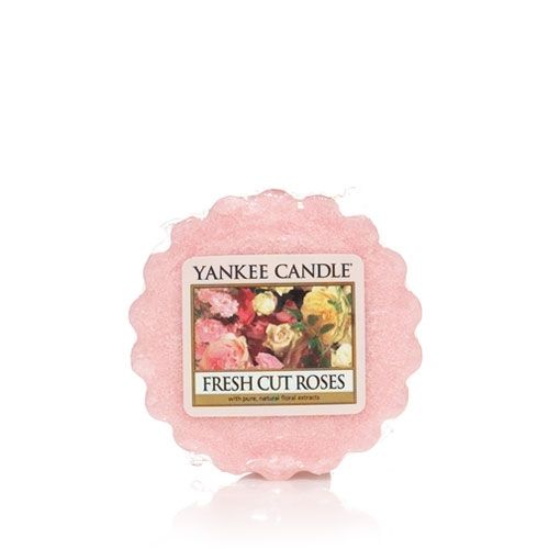 Fresh Cut Roses Tarts® wax melts Up to 8 Hours of Fragrance   About This Fragrance An intoxicating English garden of fragrant heirloom roses.