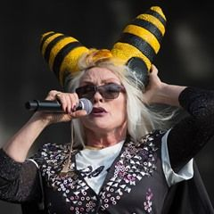 Deborah Harry and Mike Rutherford perform live at British Summer Time Hyde Park in London