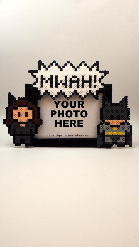 Catwoman and Batman Picture Frame Couples by BurritoPrincess