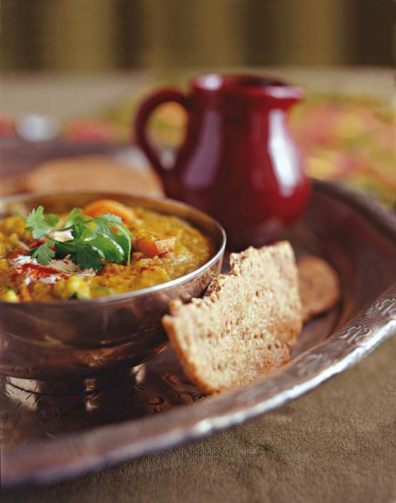 Spicy vegetable dhal