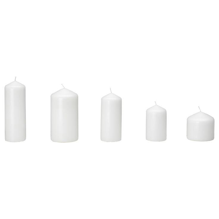 FENOMEN Pöytäkynttiläsetti, 5 osaa - IKEA, 6,99e / setti