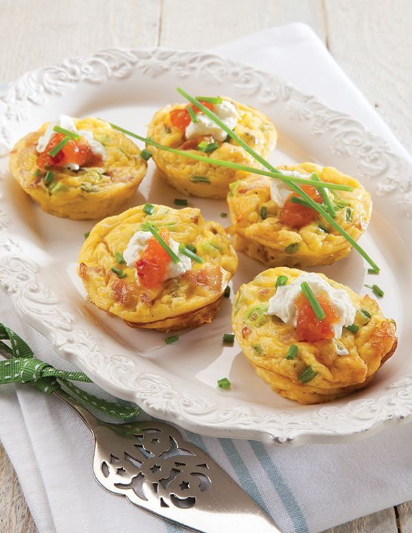 Pretty as a picture, frittata muffins are perfect for an on-the-go light meal. http://www.spur.co.za/sauces/recipes/frittata-muffins