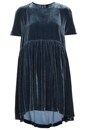 Velvet Babydoll Dress by Boutique - New In This Week  - New In