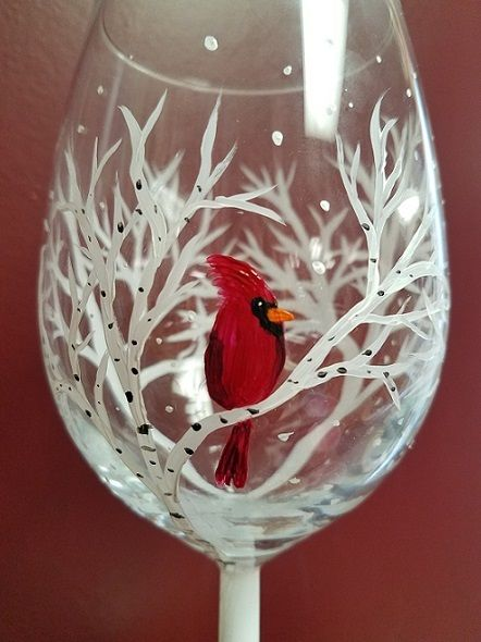 Best 25 Painted Wine Glasses Ideas On Pinterest Hand