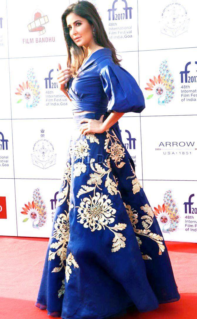 Katrina Kaif looks ravishing on the red carpet of IFFI 2017