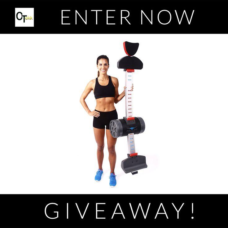 Win a FREE Revolutionary Push Up Machine from ARC-NRG. Enter here: http://www.citizentekk.com/product/push-up-machine-giveaway/ #Giveaway #Contest #win