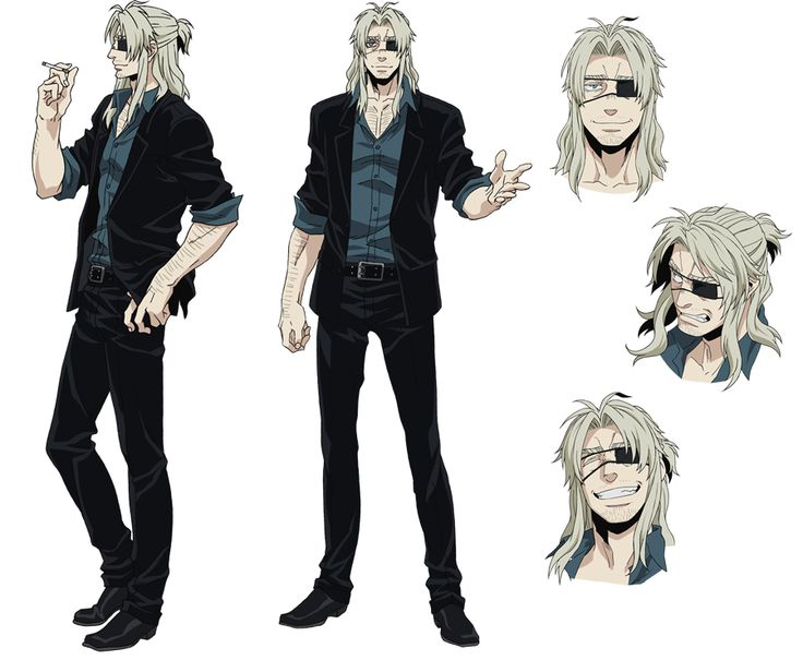 Character Design Parka : Tags official art manglobe gangsta worick arcangelo