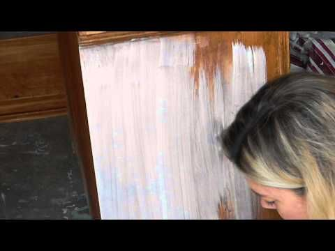 One Kings Lane: Weekend Decorator - How to Whitewash Furniture - YouTube