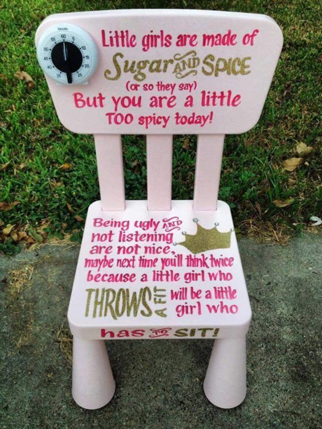 Pin By Taylor Tritt On Baby Stuff Time Out Chair Crafts Kids