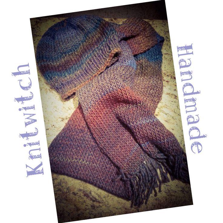 Handmade scarf and cap!