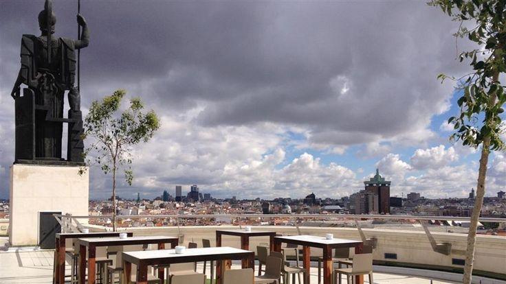 La azotea del Círculo de Bellas Artes cuenta con una de las mejores y más espectaculares vistas de Madrid