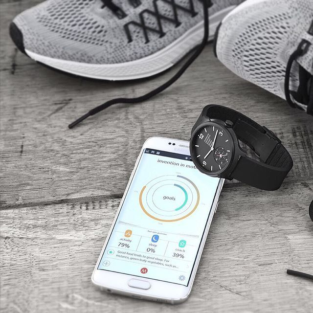 Keep track of your daily steps and calories burnt with the Helvetica Smartwatch MotionX® Activity Tracking feature.  #smartwatch #activitytracker #activity #wearables #Mondaine #MondaineHelvetica