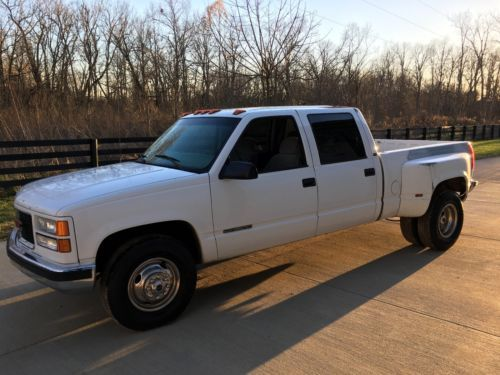 1999 Gmc Sierra 3500 Short Bed Crew Cab Dually Very Rare