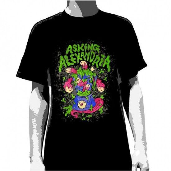 Asking Alexandria T-Shirt Blender Men's – Famous Rock Shop