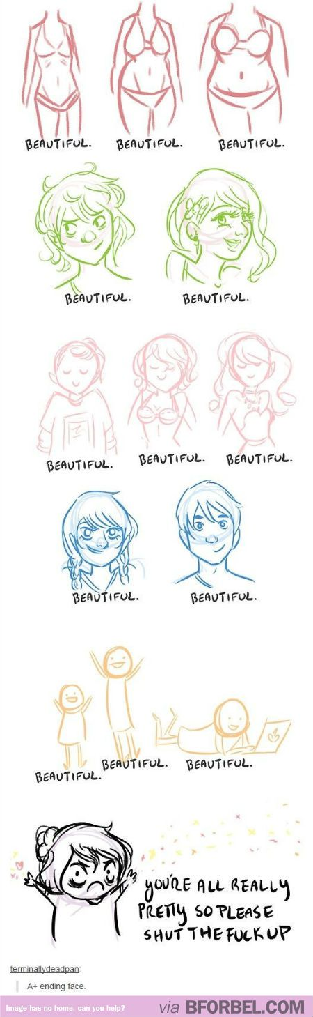 YOU ARE ALL BEAUTIFUL